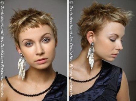 Jaren 60 Garçonne Look Kapsel Korte Haarsnit Die Het Gezicht