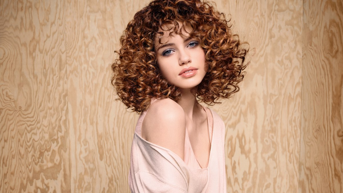 Shoulder Length Spiral Perm Photo Short Hairstyle 2013