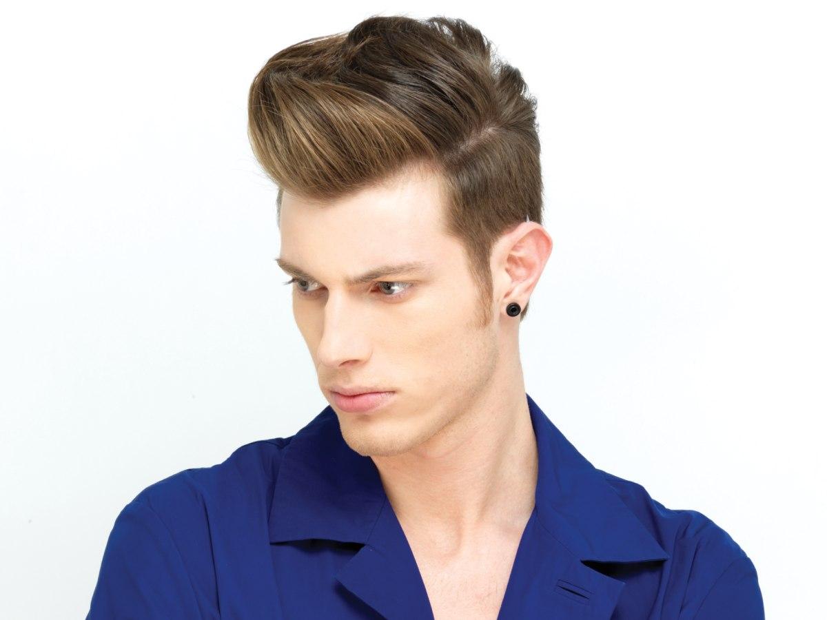 Hairstyles men 2013 back