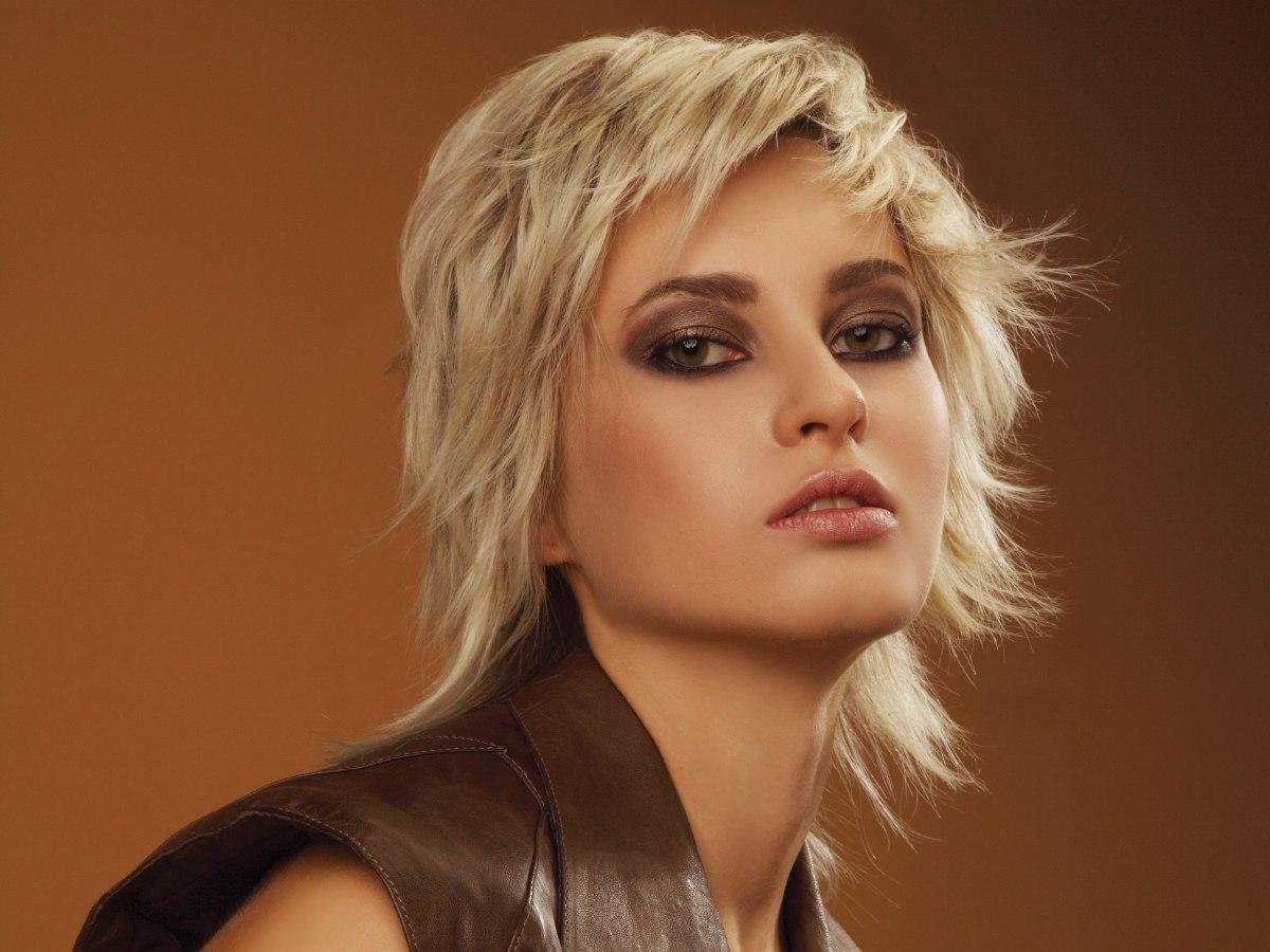 Vlotte Kapsels Halflang Haar