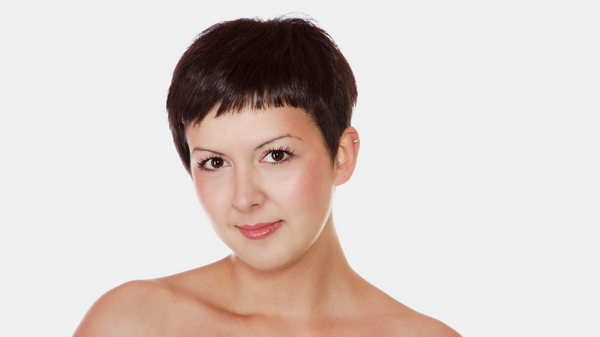 modellen voor kort haar